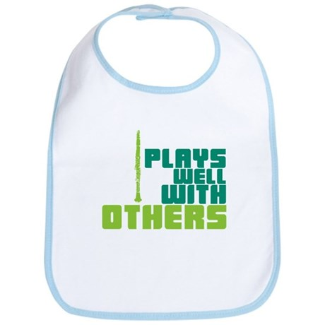 Clarinet (Plays Well With Others) Bib