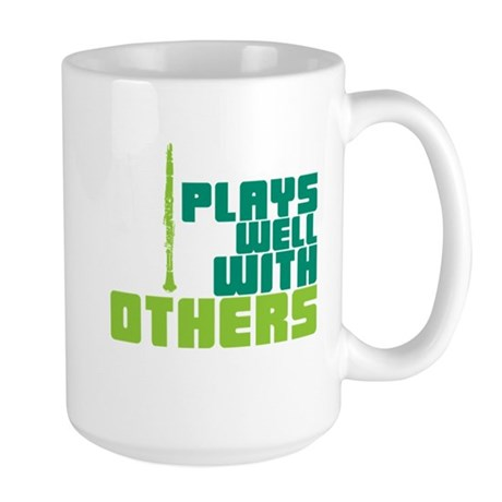 Clarinet (Plays Well With Others) Large Mug