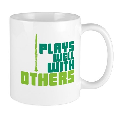 Clarinet (Plays Well With Others) Mug