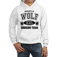 Wolf German Drinking Team Hoodie