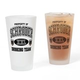 Schroder German Drinking Team Drinking Glass