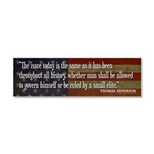 Jefferson ELITE Quote Car Magnet 10 x 3