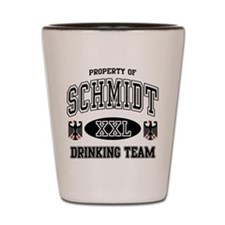 Schmidt German Drinking Team Shot Glass