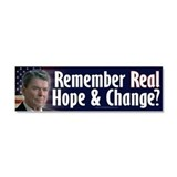 Ronald Reagan Car Magnet 10 x 3
