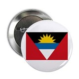 "Antigua & Barbuda Flag 2.25"" Button (10 pack)"