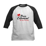 Red Team Ed Like Mom Kids Baseball Jersey