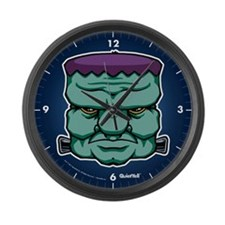 Frankenstein's Monster Large Wall Clock