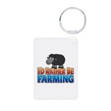 Cartoon Farmville Sheep Keychains