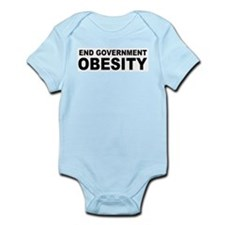 End Government Obesity Infant Bodysuit