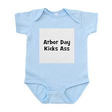 Arbor Day Kicks Ass Infant Creeper