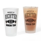 Richter German Drinking Team Drinking Glass