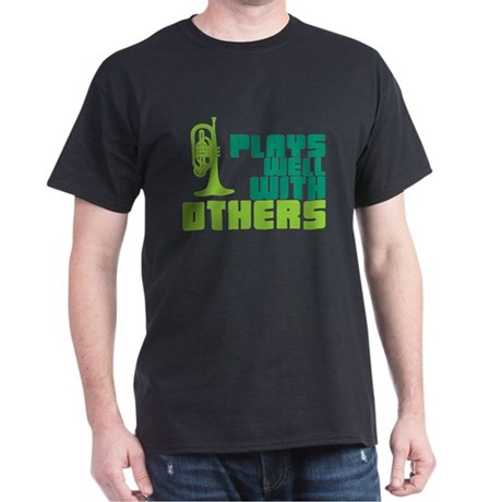 Mellophone (Plays Well With Others) Dark T-Shirt