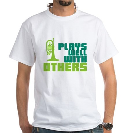 Mellophone (Plays Well With Others) White T-Shirt
