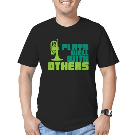 Mellophone (Plays Well With Others) Men's Fitted T