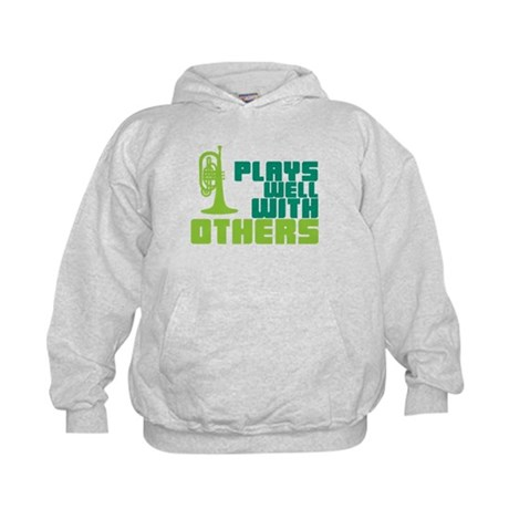 Mellophone (Plays Well With Others) Kids Hoodie