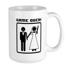 Game Over - Groom Mug