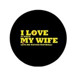 Funny my wife football 3.5