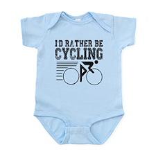 Cycling Infant Bodysuit