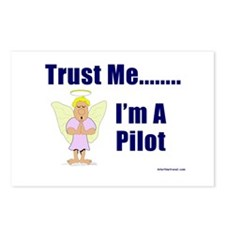 Trust Me, I'm A Pilot II Postcards (Package of 8)
