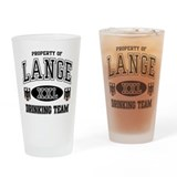 Lange German Drinking Team Drinking Glass