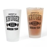Kruger German Drinking Team Drinking Glass