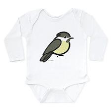 Chickadee Long Sleeve Infant Bodysuit