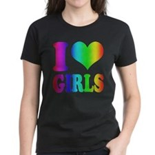 I heart Girls Rainbow Tee