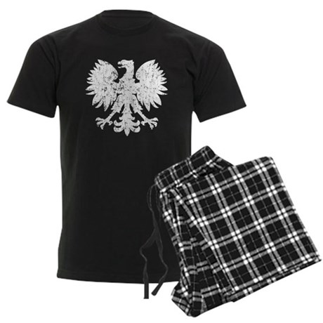 Polish White Eagle Men's Dark Pajamas