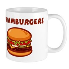 I Love Hamburgers Coffee Mug