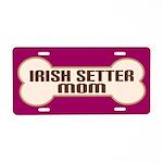 Irish Setter Dog Lover License Plate