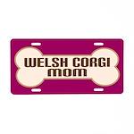 Welsh Corgi Mom Pet Gift License Plate
