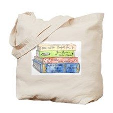Jane Austen Books Tote Bag