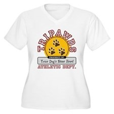Tripawds Athletic Dept. T-Shirt