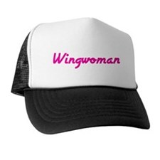 Wingwoman (Pink Logo) -  Trucker Hat