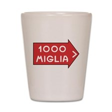 Mille Miglia Shot Glass