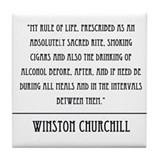 Winston Churchill Quote Coaster