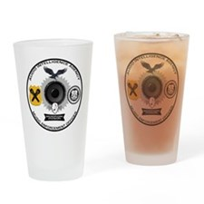 Microphone Division Drinking Glass