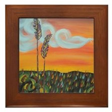 Framed Everglades Landscape Tile
