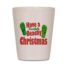 Flip Flop Christmas Shot Glass