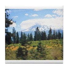 Mt. Shasta Tile Coaster