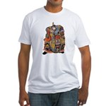 Japanese Samurai Warrior Fitted T-Shirt