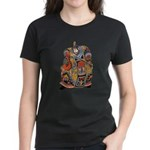 Japanese Samurai Warrior Women's Dark T-Shirt
