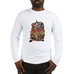 Japanese Samurai Warrior Long Sleeve T-Shirt