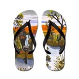 Artwork Designed Flip Flops