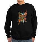 Japanese Samurai Warrior Sweatshirt (dark)