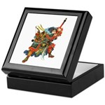 Japanese Samurai Warrior Keepsake Box