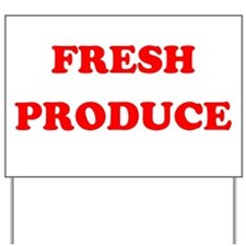 Fresh Produce Yard Sign