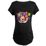 Clown and Circus Theme Birthday T-Shirt