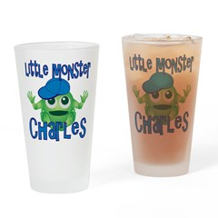Little Monster Charles Drinking Glass