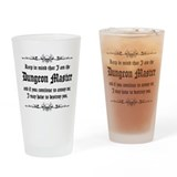 Dungeon Master - Drinking Glass